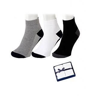 Angel Home Casual Football Socks Men 3 Pair Pack