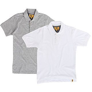 Campus Sutra Mens Polo (Pack of 2) (Multi-Coloured)