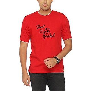 Campus Sutra Regular Fit Round Neck T-Shirt