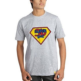 Campus Sutra Regular Fit Round Neck T-Shirt