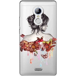 Snooky Printed Painting Mobile Back Cover of LYF Water 7 - Multicolour