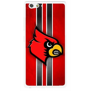 Snooky Printed Red Eagle Mobile Back Cover For Gionee Elife S6 - Multi