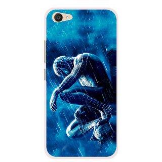 Snooky Printed Blue Hero Mobile Back Cover For Vivo V5 Plus - Multi