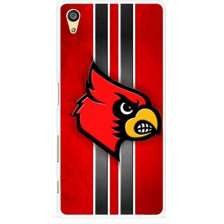 Snooky Printed Red Eagle Mobile Back Cover For Sony Xperia Z5 Plus - Multi
