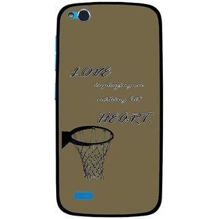 Snooky Printed Heart Games Mobile Back Cover For Gionee Elife E3 - Multi