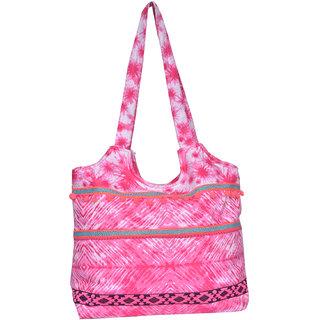 Peach Pink Hand Bag