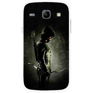 Snooky Printed Hunting Man Mobile Back Cover For Samsung Galaxy Core - Multicolour
