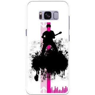 Snooky Printed Music In Air Mobile Back Cover For Samsung Galaxy S8 Plus - Multicolour