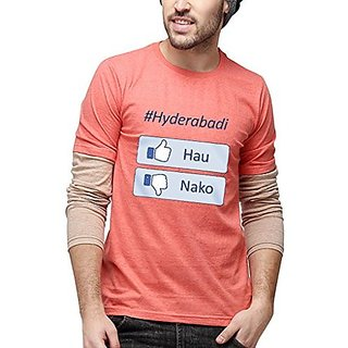 Campus Sutra Men Printed Full Sleeves Sheldon T-Shirts