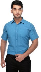 Gagan Enterprises Formal Blue Shirt