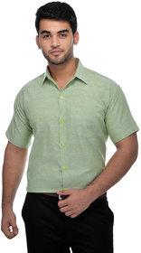 Gagan Enterprises Formal Light Green Shirt