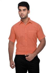 Gagan Enterprises Formal Orange Shirt