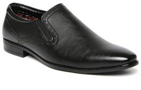 Woxer Men's Black Formal Slip On Shoe