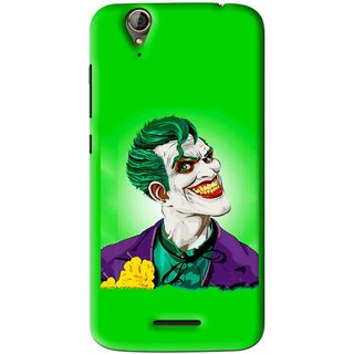 Snooky Printed Ismail Please Mobile Back Cover For Acer Liquid Z630S - Green