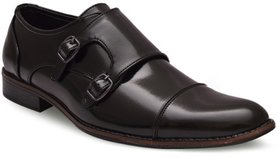 Woxer Men's Brown Formal Slip On Shoe