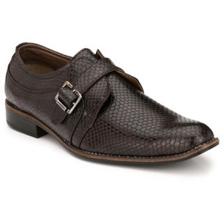 Woxer Men's Brown Formal Slip On Shoe - 124001706