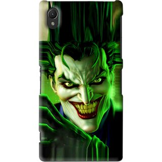 Snooky Printed Horror Wilian Mobile Back Cover For Sony Xperia Z2 - Green