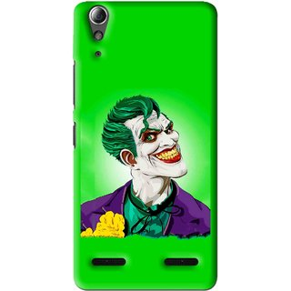 Snooky Printed Ismail Please Mobile Back Cover For Lenovo A6000 - Green