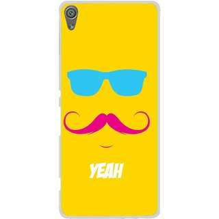 Snooky Printed Yeah Mobile Back Cover For Sony Xperia XA1 - Multi