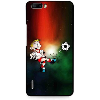 Snooky Printed My Passion Mobile Back Cover For Huawei Honor 6 Plus - Multi