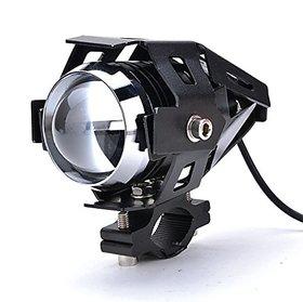 AutoSun U5 Three Mode High Beam 125W CREE U 5 LED Lamp Headlight Fog Light Spotlight for Motorcycle 1pc