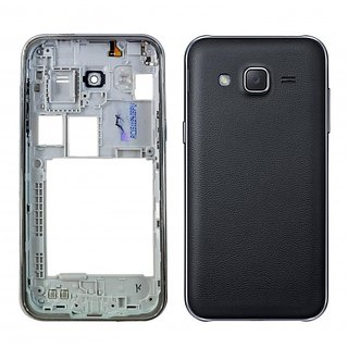 Full Body Housing Panel For Samsung Galaxy J2 J200(BLACK)