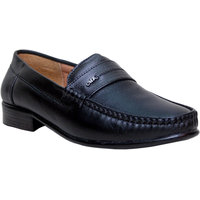 Woxer Men's Black Formal Slip On Shoe - 124003843