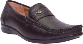 Woxer Men's Black Formal Slip On Shoe - 124003709