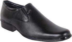 Woxer Men's Black Formal Slip On Shoe - 124003910
