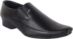 Woxer Men's Black Formal Slip On Shoe - 124003927