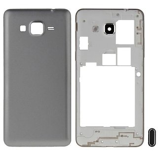Full Body Housing Panel For Samsung Galaxy Grand Prime G530 (SILVER)