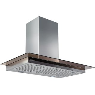 Glen Kitchen Chimney GL 6062 SX TS 60cm 750m3/hr Easy Clean Baffle Filter Chimney - Life Time Warranty
