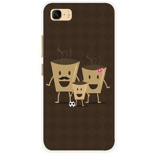 Snooky Printed Wake Up Coffee Mobile Back Cover For Asus Zenfone 3s Max ZC521TL - Multi