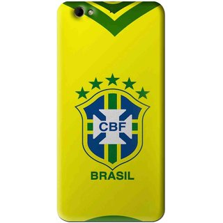 Snooky Printed Brasil Mobile Back Cover For Gionee Elife S6 - Yellow