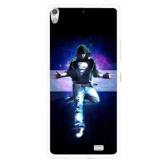 Snooky Printed Hug Me Mobile Back Cover For Gionee Elife S5.1 - Multi