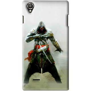 Snooky Printed The Thor Mobile Back Cover For Lava Iris 800 - Green