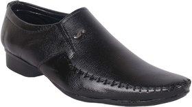 Woxer Men's Black Formal Slip On Shoe - 124003939