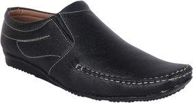 Woxer Men's Black Formal Slip On Shoe - 124004002