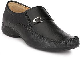 Woxer Men's Black Formal Slip On Shoe - 124004055
