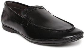 Woxer Men's Black Formal Slip On Shoe - 124004069