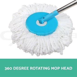 Easy Mop Floor Cleaning Mop For Home Kitchen Free 2 Microfiber Head