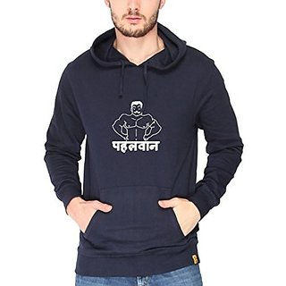 Campus Sutra Men Printed hoodies