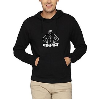 Campus Sutra Men Printed hoodies