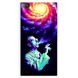 Snooky Printed Universe Mobile Back Cover For Blackberry Z3 - Multi