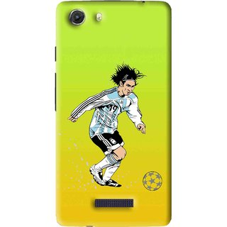 Snooky Printed Focus Ball Mobile Back Cover For Micromax Canvas Unite 3 - Multi