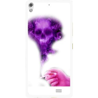 Snooky Printed Danger Mobile Back Cover For Gionee Elife S5.1 - Multi