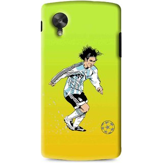 Snooky Printed Focus Ball Mobile Back Cover For Lg G5 - Multi