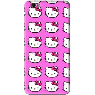 Snooky Printed Pink Kitty Mobile Back Cover For Gionee Elife S6 - Pink