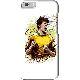 Snooky Printed I Win Mobile Back Cover For Micromax Canvas Knight 2 E471 - White