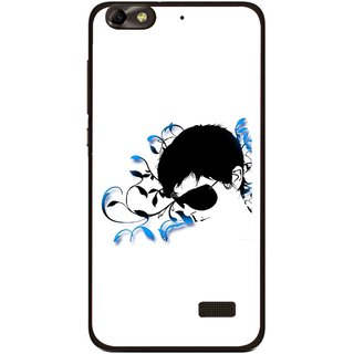 Snooky Printed Stylo Man Mobile Back Cover For Huawei Honor 4C - Multi